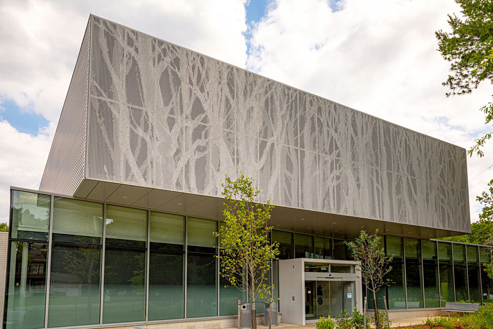perforated facade panels